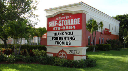 Mission Bay Self Storage - Self Storage Florida