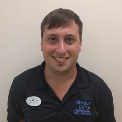 Photo of Aaron Logue, the Manager at Mission Bay Self Storage in Boca Raton, FL.